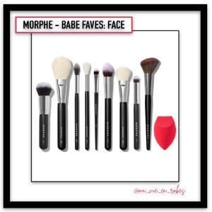 MORPHE - Babe Faves, Face Brush Set